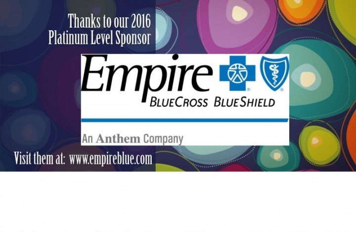 HCA's PLATINUM SPONSOR 2016: EMPIRE BLUE CROSS BLUE SHIELD
