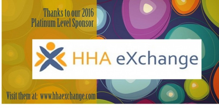 HCA's PLATINUM SPONSOR 2016: HHA eXchange