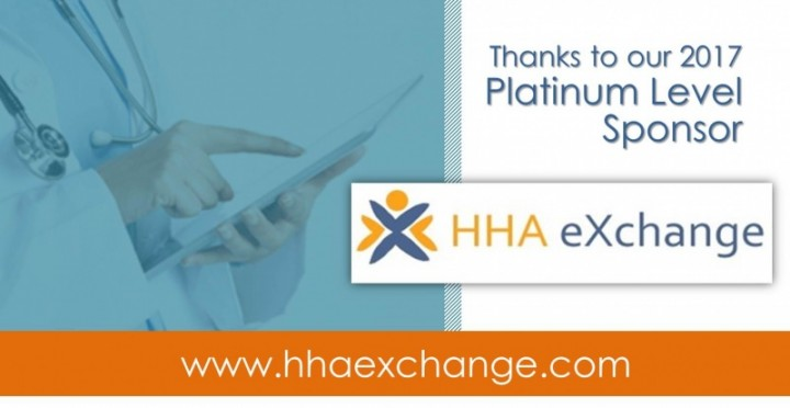 HCA's PLATINUM SPONSOR 2017: HHA eXchange