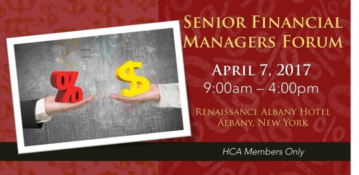 Register Now: Senior Financial Managers Forum