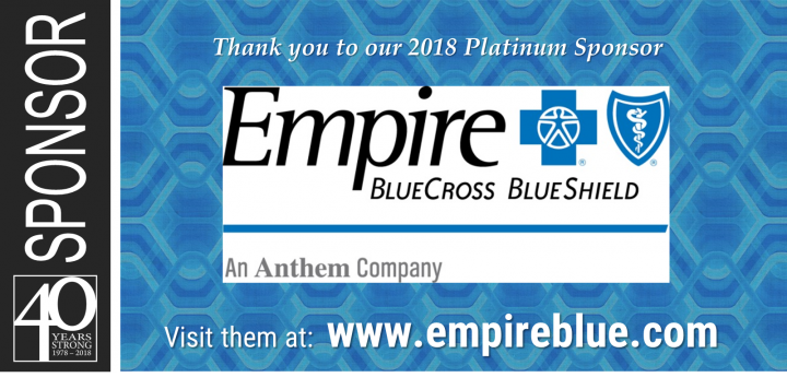 2018 Sponsor: Empire Blue Cross Blue Shield