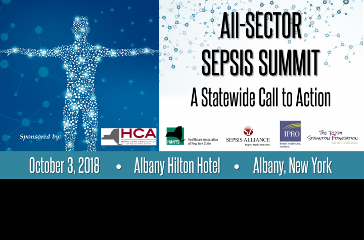 All-Sector Sepsis Summit on Oct. 3