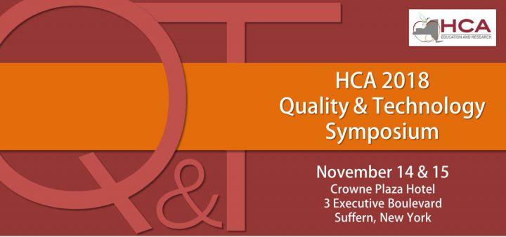 HCA Quality and Technology Symposium