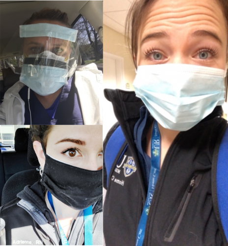 """UR Medicine Home Care """"Road Warriors"""" snap photos from the field as they deliver vital care to patients in the community."""